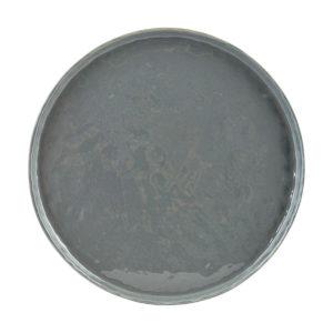 Plato cerámica gris