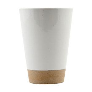 Vaso cerámica blanco