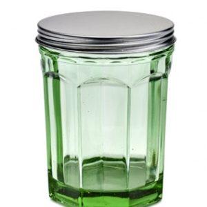 Bote cristal verde