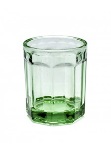 Vaso cristal verde 22 cl