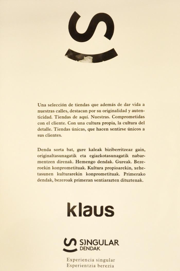 Certificado Singular Dendak-Klaus Eibar